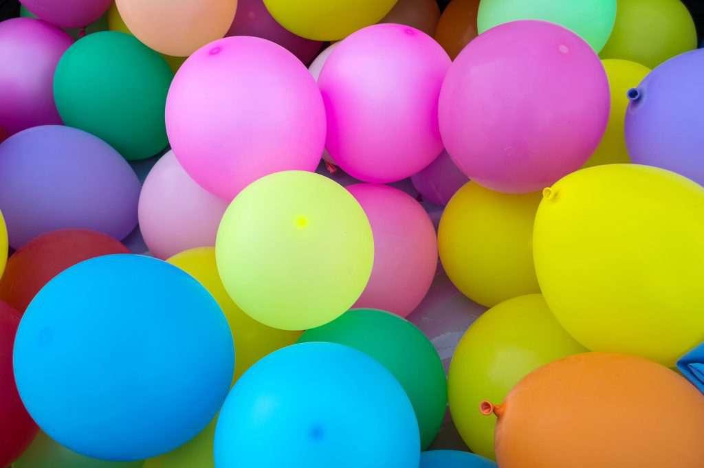 Конкурсы с шариками