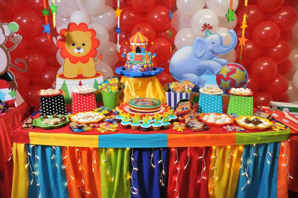 Цирк оформление праздника